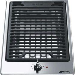Płyta grill elektryczny SMEG PGF30B z serii CLASSICA