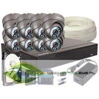 Zestawy monitoringowe, Zestaw 4w1, 8x Kamera FULL HD/IR20, Rejestrator 8ch, HDD 1TB
