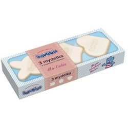 Mydełka Bambino w wyjątkowych kształtach niebieskie 3 x 50 g