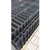 Przęsła i elementy ogrodzenia, Panel ogrodzeniowy czarny Fi5 1530x2500 mm