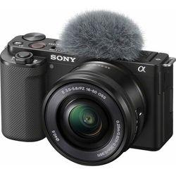 SONY aparat fotograficzny ZV-E10 + 16-50mm (ZVE10LBDI)