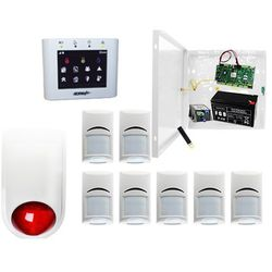 System alarmowy do szkoły Ropam OptimaGSM-PS + 7xBosch+ TPR-2W-O + Sygnalizator