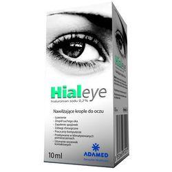 HIALEYE hialuronian sodu 0,2% krople do oczu 10 ml
