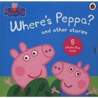 Książki do nauki języka, Peppa Pig Wheres Peppa and other stories - książka (opr. twarda)