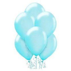 Balony lateksowe duże - 12 cali - błękitne - 25 szt.