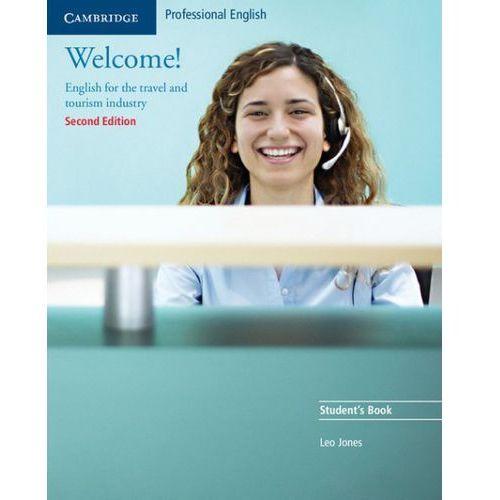 Książki do nauki języka, Welcome! Second Edition Książka Ucznia (opr. miękka)
