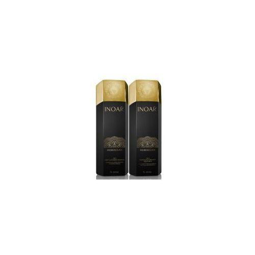 Inne kosmetyki do włosów, INOAR keratyna do prostowania 1000ml + szampon oczyszczający 1000ml