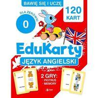 Książki dla dzieci, EduKarty. Język angielski dla zerówki - Paszylk Bartłomiej - książka (opr. broszurowa)