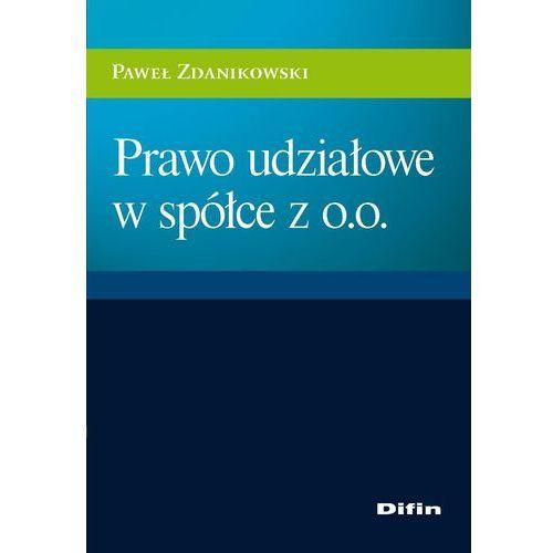 E-booki, Prawo udziałowe w spółce z o.o. - Paweł Zdanikowski