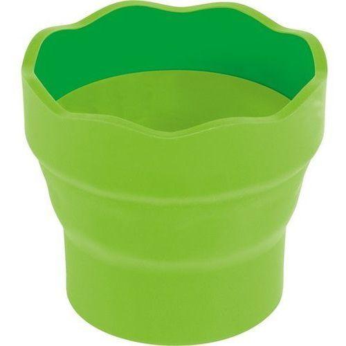 Pozostałe artykuły szkolne, Pojemnik na wodę Click&Go zielony FABER CASTELL