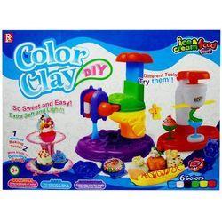 Masa plastyczna SWEDE Color Clay (6 kolorów)