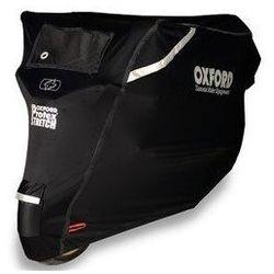 Oxford pokrowiec na motocykl protex stretch czarny