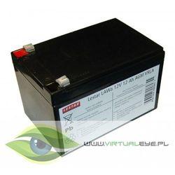 Akumulator wymienny LAWa 12V 12Ah AGM VRLA