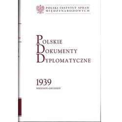 Polskie Dokumenty Dyplomatyczne 1939 wrzesień-grudzień (opr. twarda)