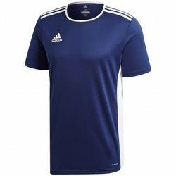adidas uniseks koszulka dziecięca Entrada 18 Dark Blue/White 140
