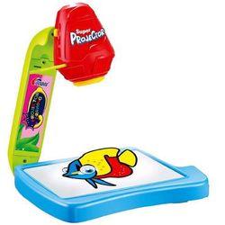 Projektor z tablicą do rysowania 24 OBRAZY + PISAKI 8185 Zabawki -15% (-12%)