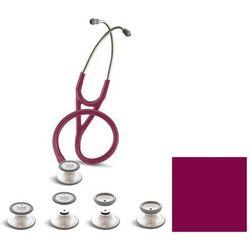 Stetoskop kardiologiczny Spirit Deluxelite SS757PF 3w1 Neck Shape burgundowy