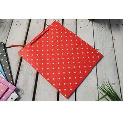 Torba prezentowa czerwona 30x10 cm