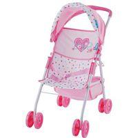 Wózki dla lalek, Hauck wózek sportowy dla lalki - Serduszka - BEZPŁATNY ODBIÓR: WROCŁAW!