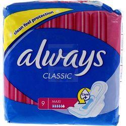 ALWAYS 9szt Classic Maxi Podpaski