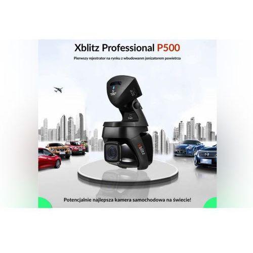 Rejestratory samochodowe, Xblitz P500