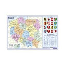 Podkładka Administracyjna mapa Polski. Darmowy odbiór w niemal 100 księgarniach!