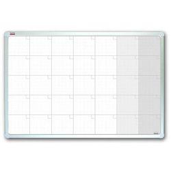 Planer miesięczny suchościeralno-magnetyczny 2x3 StarBoard ceramiczny, 90x60cm