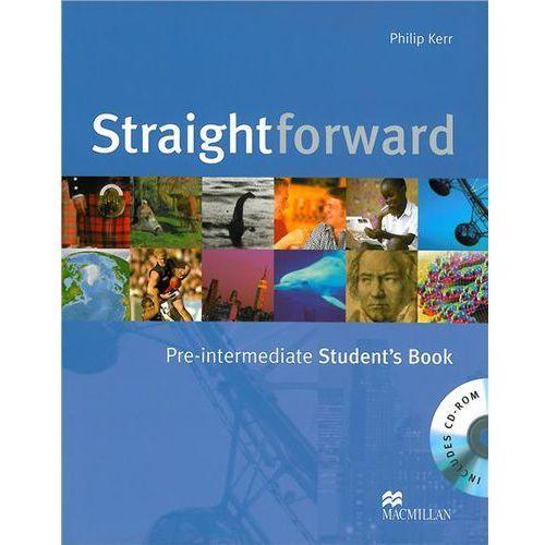 Książki do nauki języka, Straightforward Pre-Intermediate, Second Edition, Student's Book (podręcznik) (opr. miękka)