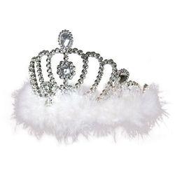 Opaska Diadem Biały Królowa Śniegu