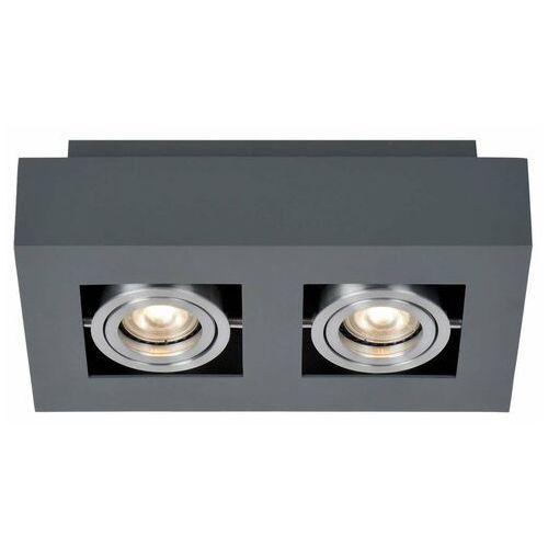 Lampy sufitowe, Spot Italux Casemiro IT8001S2-WH/BK oprawa sufitowa 2x50W GU10 biały/czarny