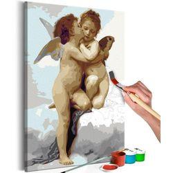 Obraz do samodzielnego malowania - aniołki (miłość) marki Artgeist