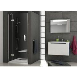 Ravak SmartLine drzwi prysznicowe SMSD2-120a, lewe, Chrom+Transparent 190 cm 0SLGAA00Z1