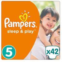 Pieluchy jednorazowe, Pampers Sleep&Play Pieluchy rozmiar 5 Junior 11-18 kg 42 szt.