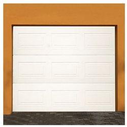 Brána garážová sekčná kazeta biela 2560x2220mm
