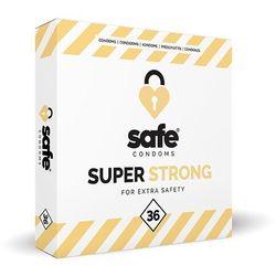 Prezerwatywy wzmocnione - Safe Strong Condoms 36 szt