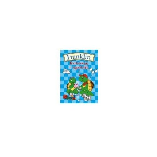 Książki dla dzieci, Franklin Koloruję i zgaduję 1 (opr. miękka)
