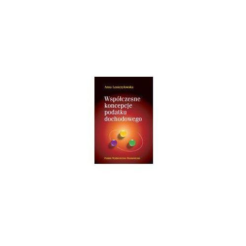 Książki o biznesie i ekonomii, Współczesne koncepcje podatku dochodowego (opr. miękka)