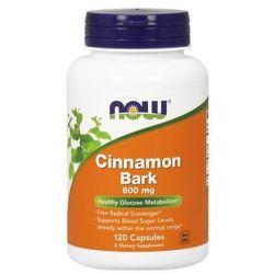 Cinnamon Bark (Cynamon kora) 600mg 120 kaps.