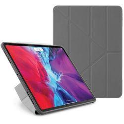"""Pipetto Origami Obudowa Ochronna do iPad Pro 12.9"""" (2020) / iPad Pro 12.9"""" (2018) (Dark Grey)"""
