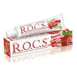 ROCS Teens Wild Strawberry - Pasta dla dzieci w wieku 8-18 lat o smaku poziomki 60ml