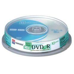 PŁYTA DVD+R 4.7GB VAKOSS 16XCAKE 10