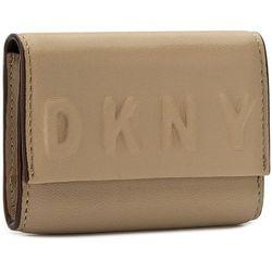 Etui na wizytówki DKNY - Slgs Debossed Logo R172440102 Nude 277