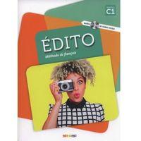 Książki do nauki języka, Edito C1 Methode de francais + DVD - Cecile Pinson (opr. miękka)