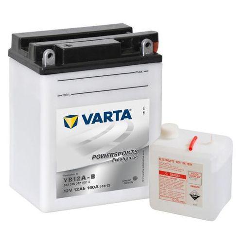 Akumulatory do motocykli, Varta Akumulator Freshpack 12 V, Ah, YB12A-B