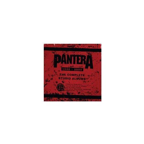 Pozostała muzyka rozrywkowa, THE COMPLETE STUDIO ALBUMS 1990-2000 - Pantera (Płyta CD)
