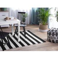 Dywany, Dywan na zewnątrz czarno-biały 160 x 230 cm TAVAS