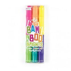 OOLY Bambus - Pachnące Mini Flamastry- 6 flamastrów.