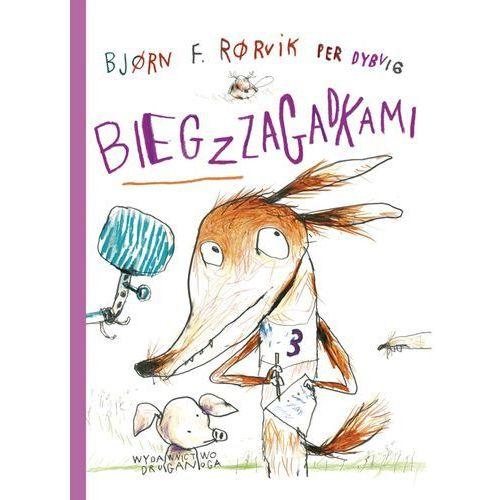 Książki dla dzieci, Lisek i Prosiaczek z niezakręconym ogonkiem. Bieg z zagadkami (opr. twarda)
