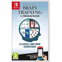 Dr Kawashima's Brain Training Gra Nintendo Switch NINTENDO