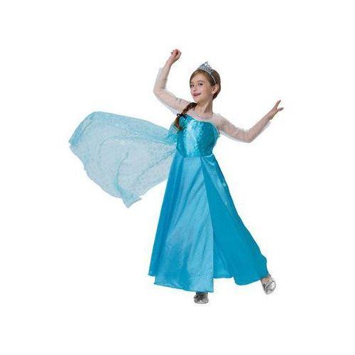 Kostiumy dla dzieci, Kostium Księżniczka Lodu dla dziewczynki - L - 128 cm
